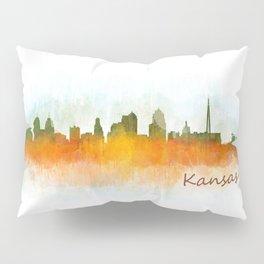 Kansas City Skyline Hq v3 Pillow Sham