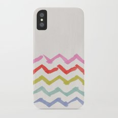 Rainbow iPhone X Slim Case