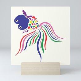 Colorful Tale Fish Mini Art Print