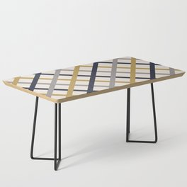 Double Tracery Coffee Table