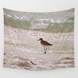 Sandpiper Aqua Tranquility Wall Tapestry