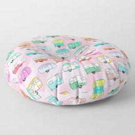 Happy Glamper Floor Pillow