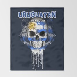 To The Core Collection: Uruguay Throw Blanket