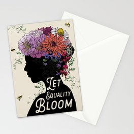LET EQUALITY BLOOM Stationery Cards