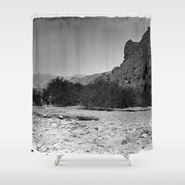 FURNACE CREEK, DEATH VALLEY, CALIFORNIA Shower Curtain