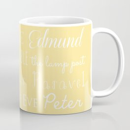Narnia Celebration- shortbread Coffee Mug