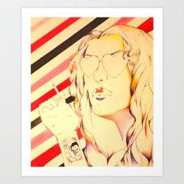 Summer Of '75 Art Print