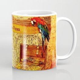 Credendo Vides Old Pirate Map Coffee Mug
