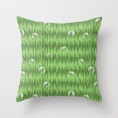 Grassy Throw Pillow