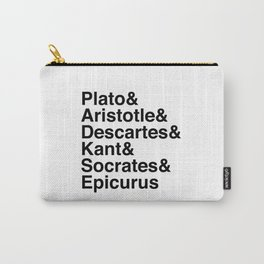 Helvetica Philosophers Carry-All Pouch