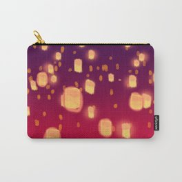 Floating Lanterns Carry-All Pouch