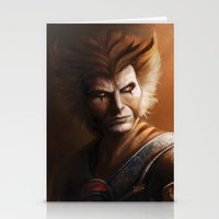 thundercats Stationery Cards featuring ThunderCats Collection - Tygra by fabvalle