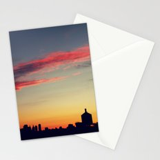 summer skylines Stationery Cards