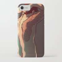 tattoos iPhone & iPod Cases featuring Wing Tattoos by rdjpwns