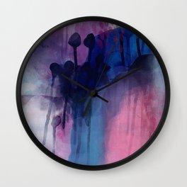 Blue moves Wall Clock