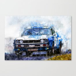 H. Stuck, Capri 2600RS -1972 Canvas Print
