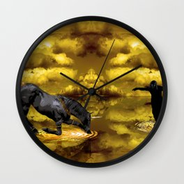 Curtsy Wall Clock
