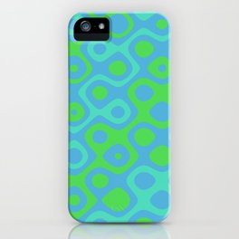 Brain Coral Green Banded - Coral Ree Series 020 iPhone Case