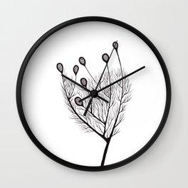 Poutine Végétarienne Kurde Wall Clock