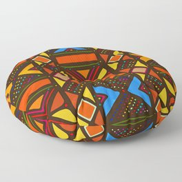 African Style No6, Sahara Desert Floor Pillow