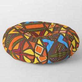 African Style No6, Sahara Desert Floor Pillow
