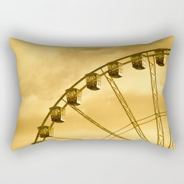 Carnival Is Over Rectangular Pillow