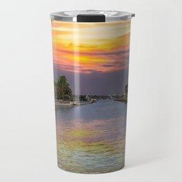 Ballard Locks at Sunrise Travel Mug