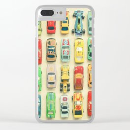 Car Park Clear iPhone Case