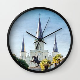 Jackson Square New Orleans Wall Clock