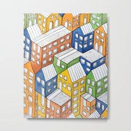 House on house Metal Print