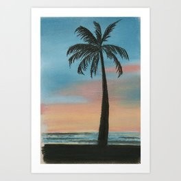 Simeulue Sunset Art Print