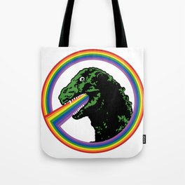 Rainbow Lizard Tote Bag