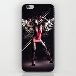 Pink Dancer iPhone Skin