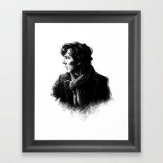 SH Framed Art Print