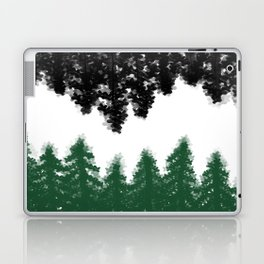 Lost in Thought (green) Laptop & iPad Skin