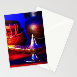 Magic Lamp of Aladdin. Call out the Genie Stationery Cards