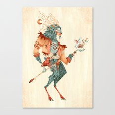 The Magical Faun Canvas Print