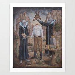 The Coronation Art Print