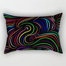 Hair pattern Rectangular Pillow