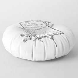 It's not that I can't fall in Love... Floor Pillow