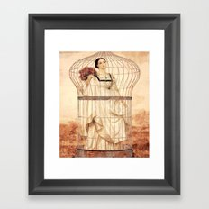 Captive Beauty Framed Art Print