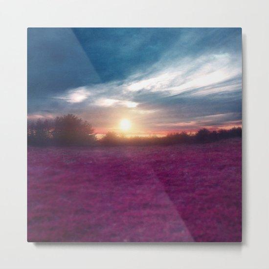 Sunset I C. Metal Print