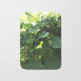 Green grapes Nature Design Bath Mat