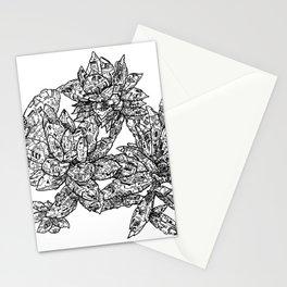 Garden of Danger Stationery Cards