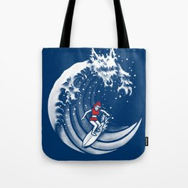 Little Red Surfing Hood Tote Bag