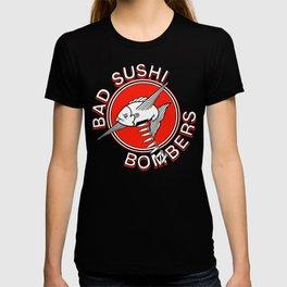 Bad Sushi Bombers OG logo T-shirt