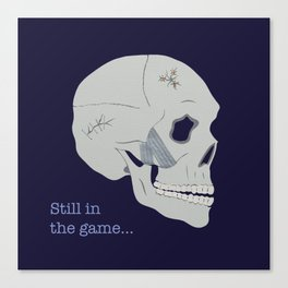 Still in the game Canvas Print