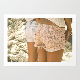 Chill Your Beach Booty Art Print