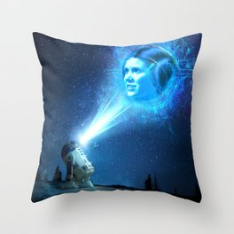 Our Lady of Stars Throw Pillow