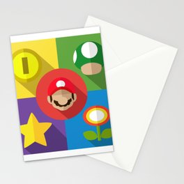 Super Mario flat Stationery Cards